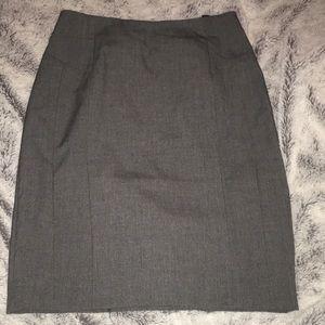 H&M Gray Pencil Skirt - Size 4
